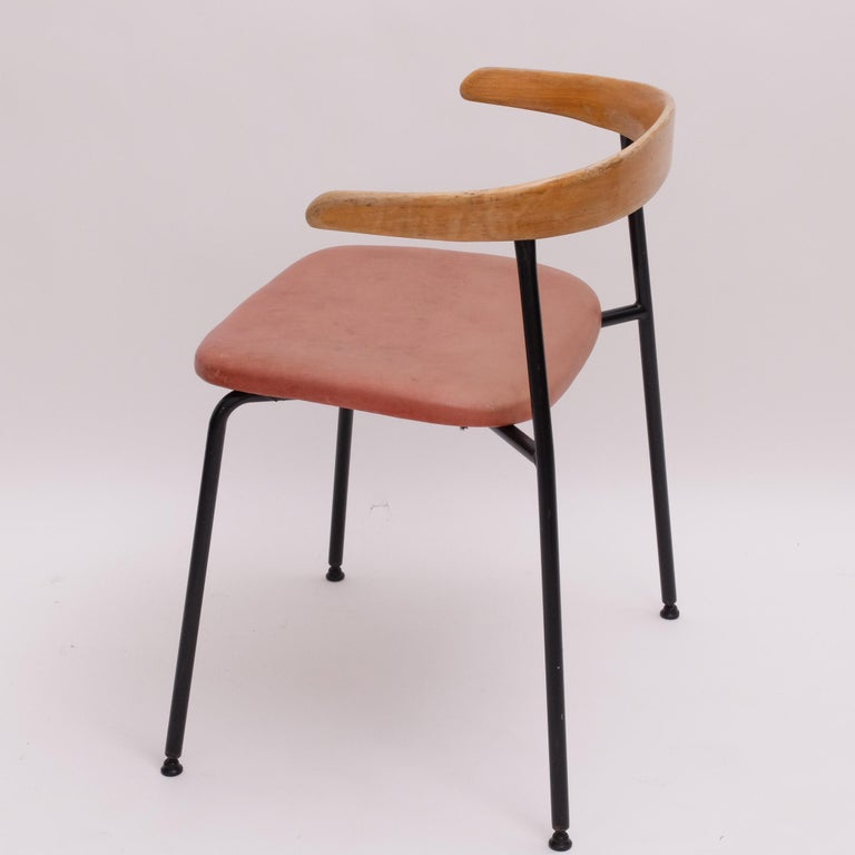 British Rare Desk Chair by Sir Terence Conran c20 Chair, c.1960 For Sale