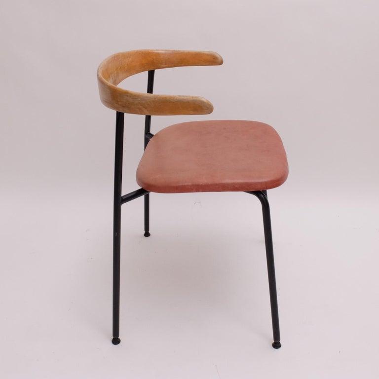 Cloissoné Rare Desk Chair by Sir Terence Conran c20 Chair, c.1960 For Sale
