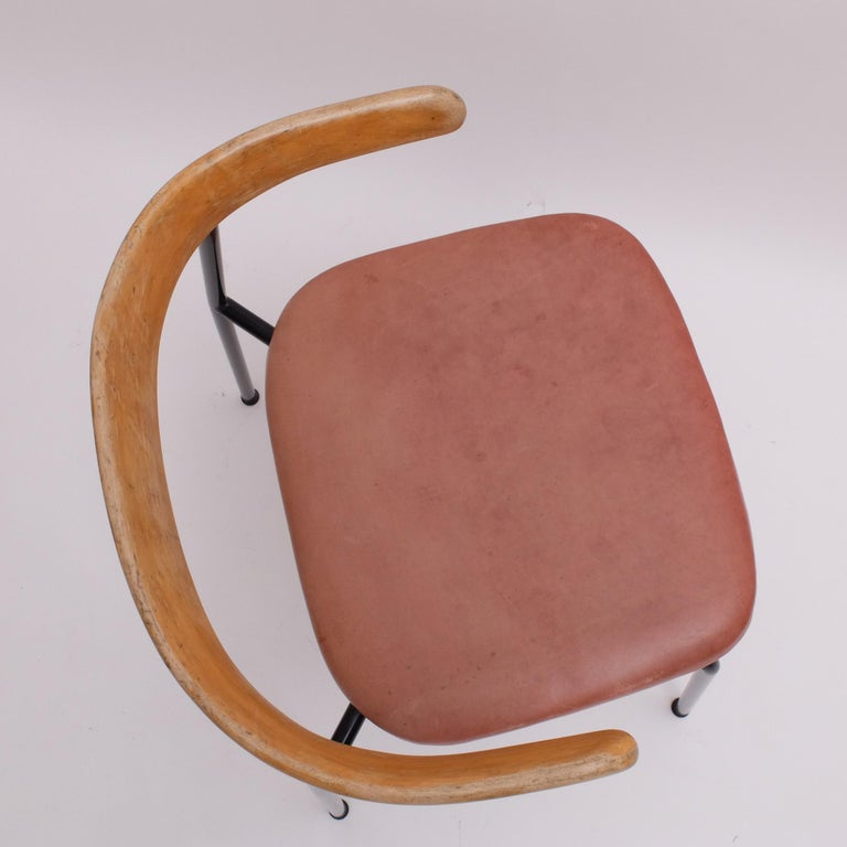 Rare Desk Chair by Sir Terence Conran c20 Chair, c.1960 In Good Condition For Sale In London, GB