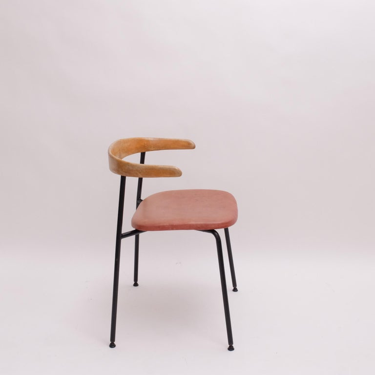Rare Desk Chair by Sir Terence Conran c20 Chair, c.1960 For Sale 2