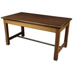 Rare Desk from the Banque De France, circa 1950