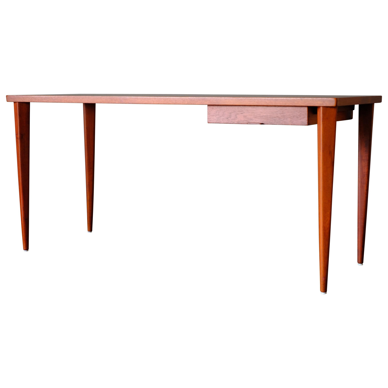 Rare Desk in Teak by Nanna Ditzel