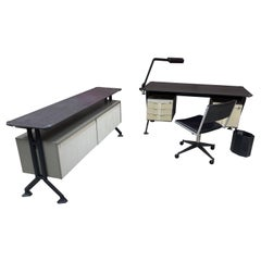 Rare Desk Set by BBPR for Olivetti Synthesis, circa 1960