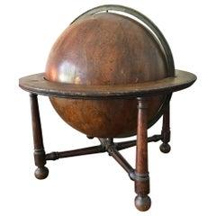Rare Desktop Celestial Globe by Wright or Bardin, circa 1790