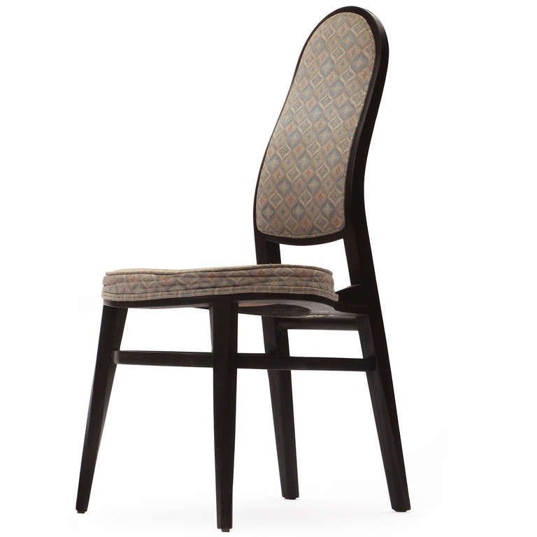 American Rare Dining Chairs by Edward Wormley For Sale