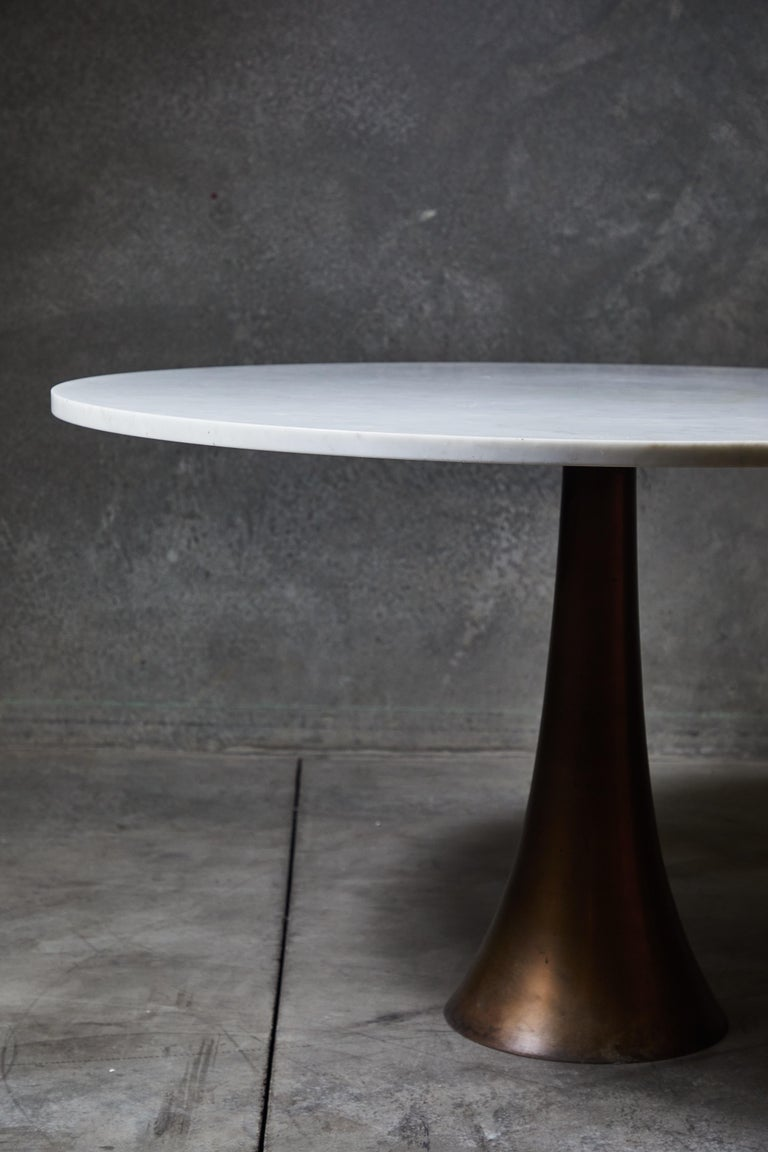 Rare Dining Table by Angelo Mangiarotti For Sale 1