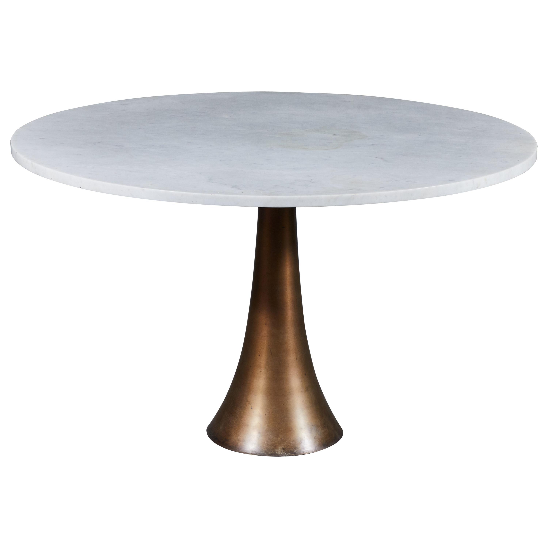 Rare Dining Table by Angelo Mangiarotti