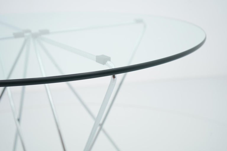 Rare Dining Table By Till Behrens for Schlubach Germany 1983 For Sale 5