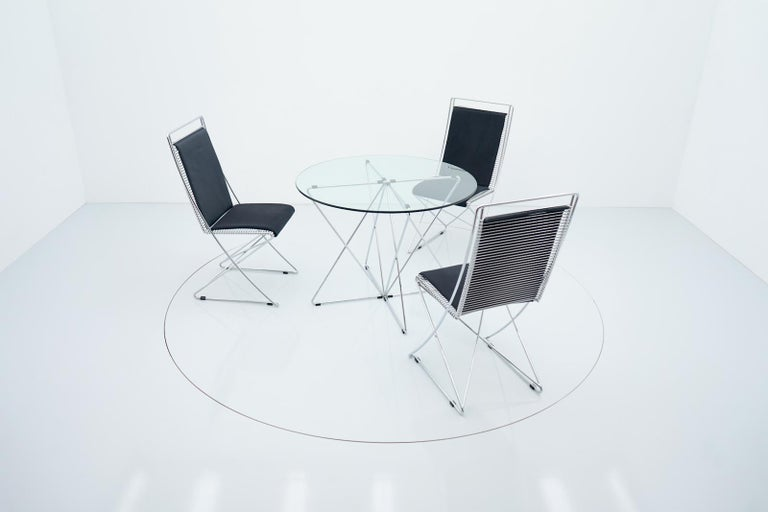Rare Dining Table By Till Behrens for Schlubach Germany 1983 For Sale 6