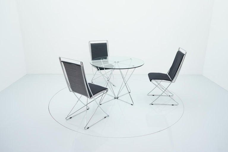 Rare Dining Table By Till Behrens for Schlubach Germany 1983 For Sale 7