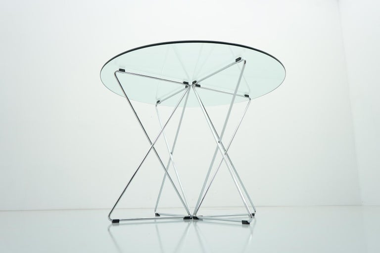 Modern Rare Dining Table By Till Behrens for Schlubach Germany 1983 For Sale