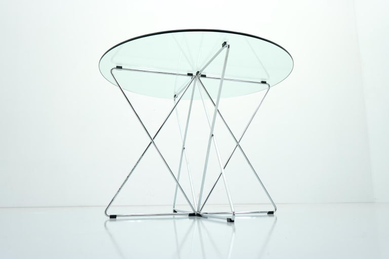 Late 20th Century Rare Dining Table By Till Behrens for Schlubach Germany 1983 For Sale
