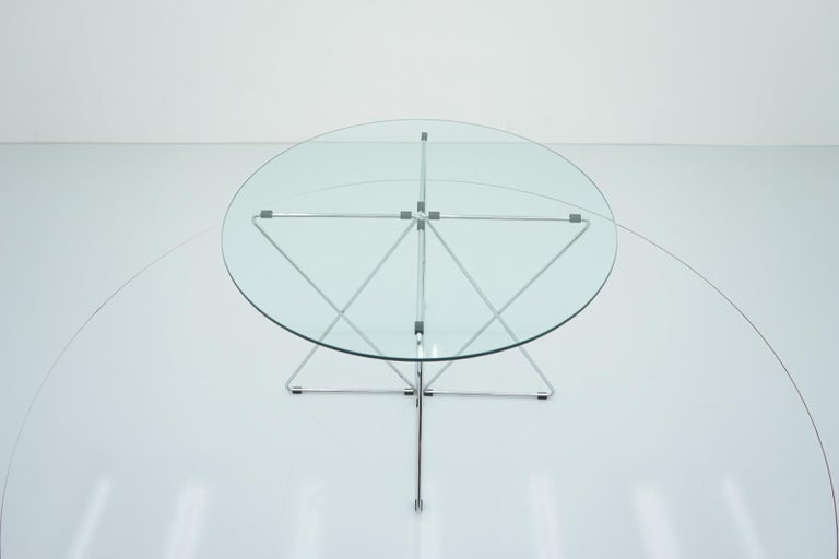 Rare Dining Table By Till Behrens for Schlubach Germany 1983 For Sale 3