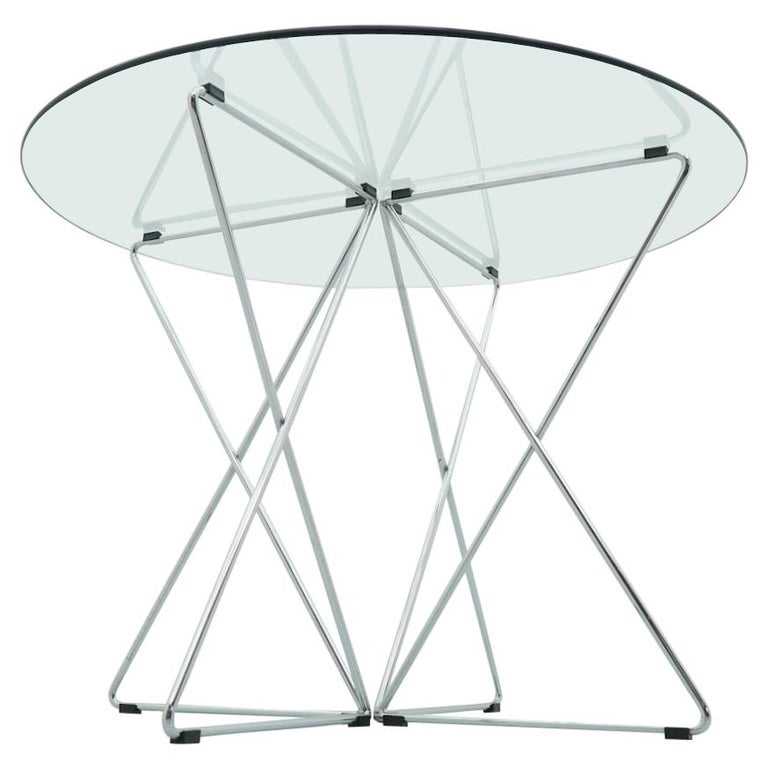Rare Dining Table By Till Behrens for Schlubach Germany 1983 For Sale