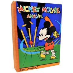 Rare Disney's Mickey Mouse Annual #4 1933 First Edition Book U.K. Pressing