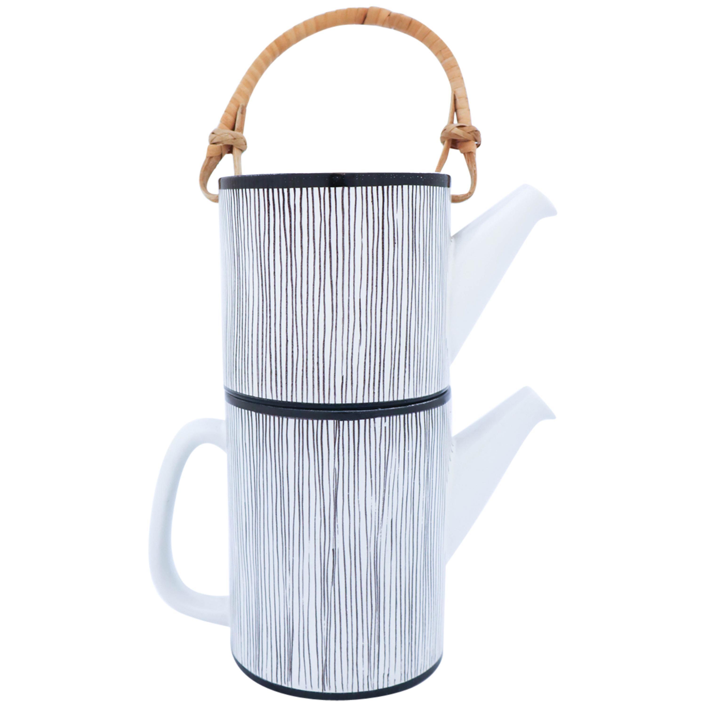 Rare Double Teapot, Stig Lindberg Gustavsbergs Studio, Faience