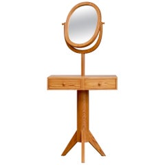 Rare Dressing Table with Mirror by Erik Höglund, Sweden, 1950s
