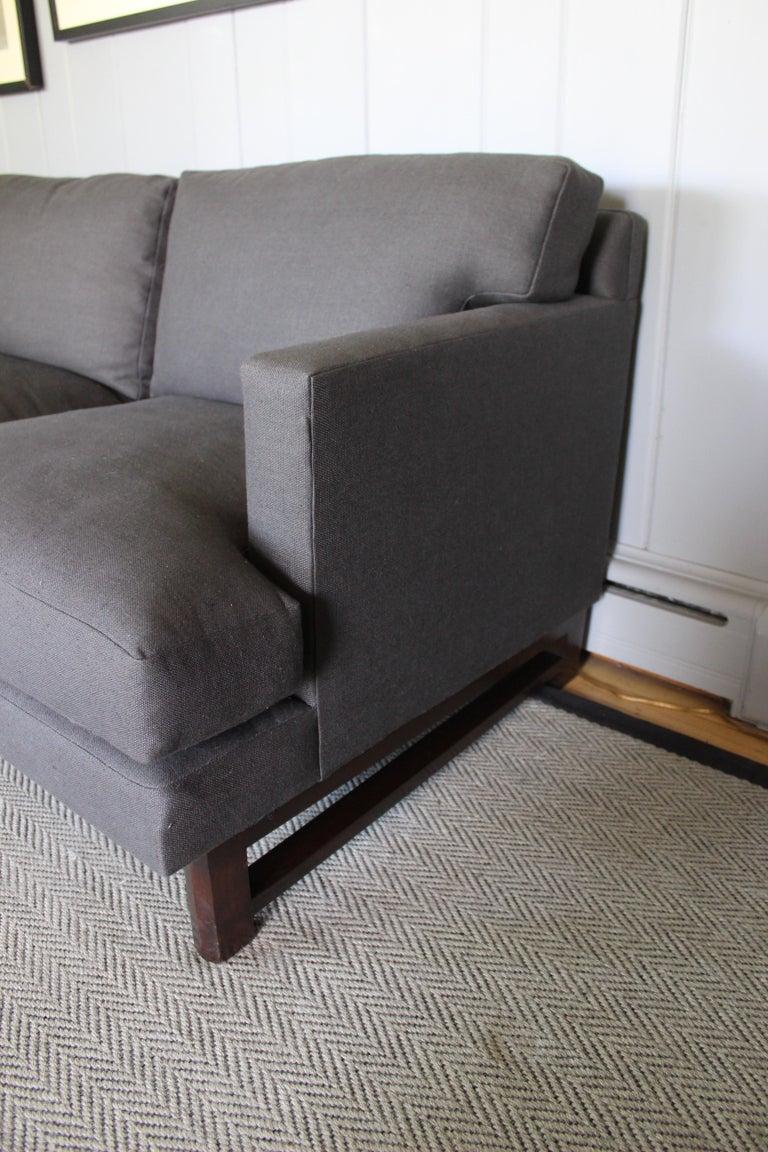 Mid-Century Modern Rare Dunbar Sofa by Edward Wormley For Sale