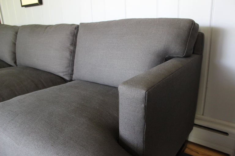Rare Dunbar Sofa by Edward Wormley In Excellent Condition For Sale In East Hampton, NY