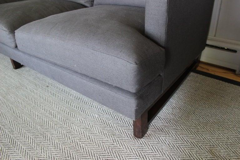 Rare Dunbar Sofa by Edward Wormley For Sale 3