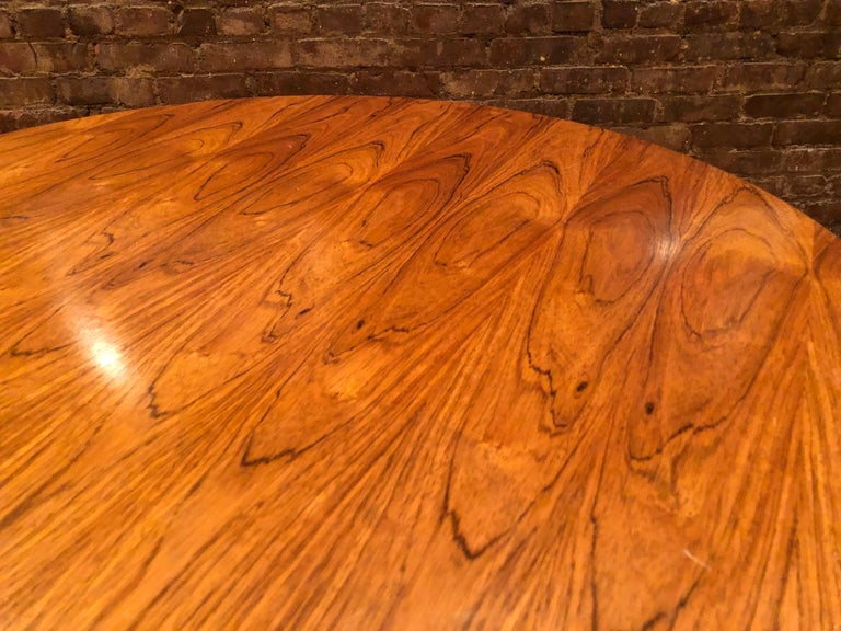 Mid-Century Modern Rare Eames Rosewood Dining table for Herman Miller For Sale