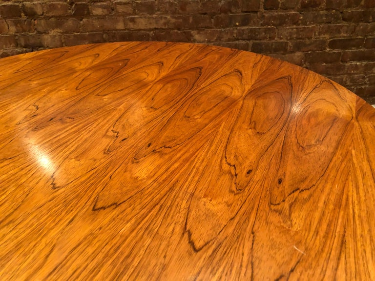 American Rare Eames Rosewood Dining table for Herman Miller For Sale