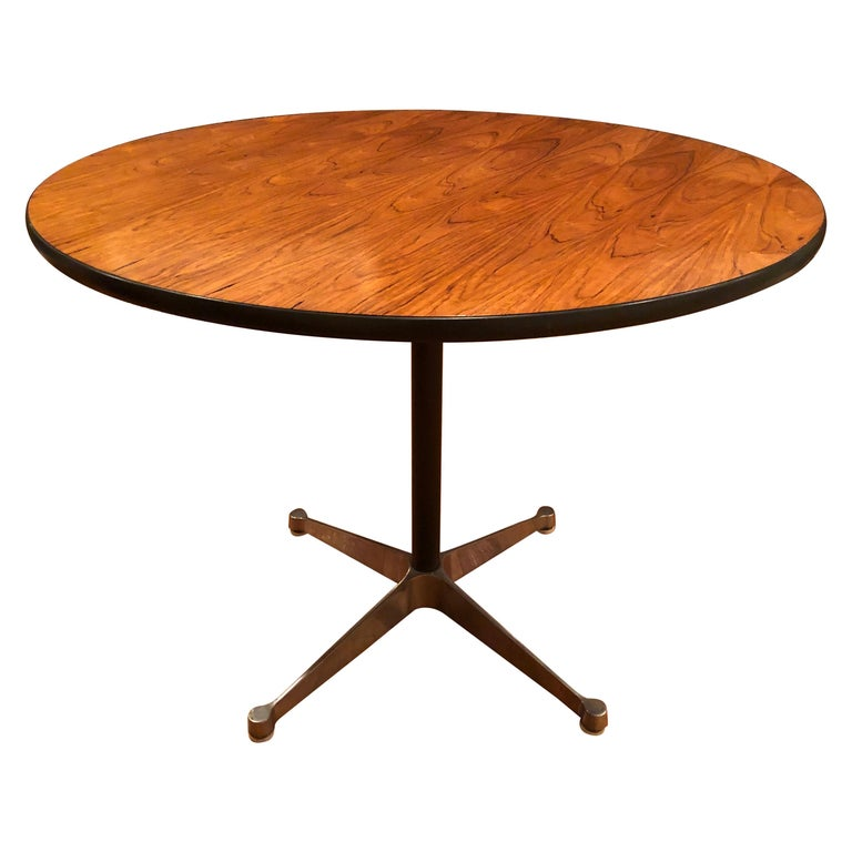 Rare Eames Rosewood Dining table for Herman Miller For Sale