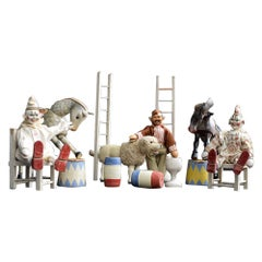 Rare Early 20th Century Schoenhut Humpty Dumpty German Circus Collection