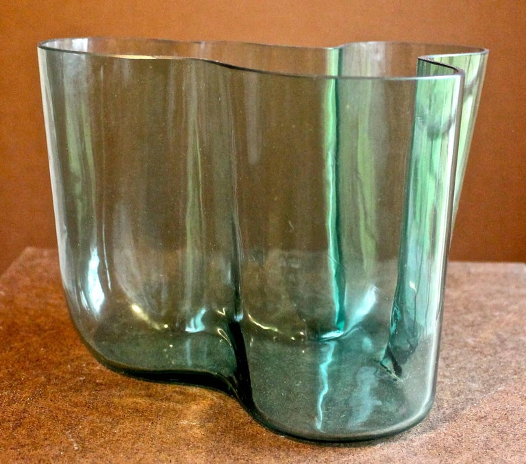 Rare Early Alvar Aalto Savoy 9750 Vase For Sale At 1stdibs