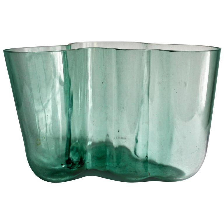 Alvar Aalto Glass Savoy Vase For Sale At 1stdibs