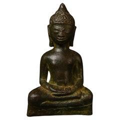 Rare Early Burmese Buddha, Late Pyu-1000 Years Old, 6082