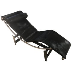 Rare Early Le Corbusier LC4 Chaise Lounge Cassina Nr. 979 from circa 1965