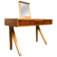 Rare EB01 Vanity Table by Cees Braakman for Pastoe, 1950s