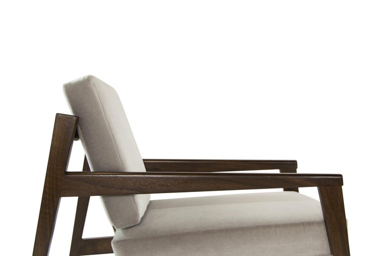 Rare Edmond Spence Strapped Lounge Chairs, 1950s For Sale 1