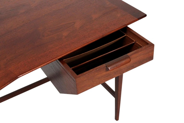 Rare Edward Wormley for Dunbar Desk For Sale 4