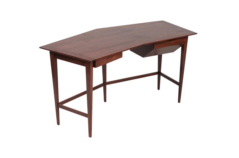 Mid-Century Modern Rare Edward Wormley for Dunbar Desk For Sale