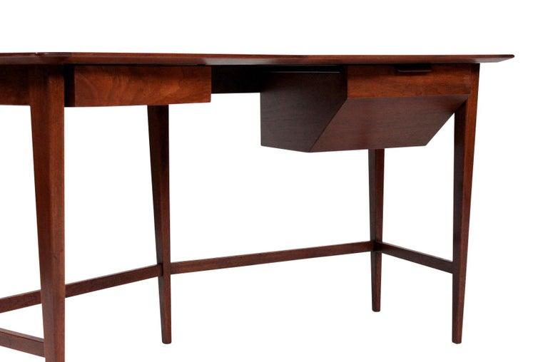 Rare Edward Wormley for Dunbar Desk For Sale 1