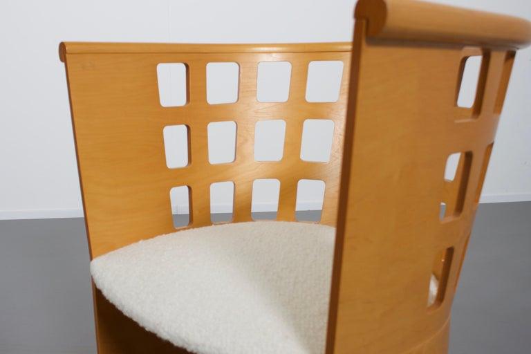 20th Century Rare Eero Aarnio Birch Armchair for Asko, Finland For Sale