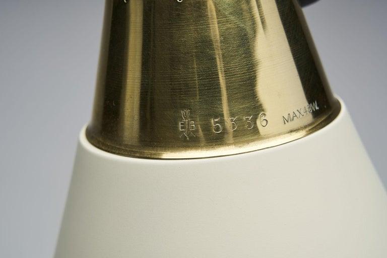 "Rare Einar Bäckström ""EB 5336"" Floor Lamp, Sweden, 1950s 8"