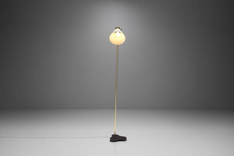 "Swedish Rare Einar Bäckström ""EB 5336"" Floor Lamp, Sweden, 1950s"