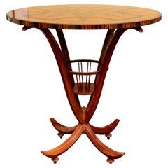 Rare Emilio Terry for John Widdicomb Sculptural Table