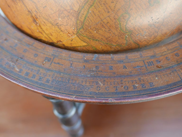 Georgian Rare English Terrestrial Globe by Charles Smith, 1807 For Sale