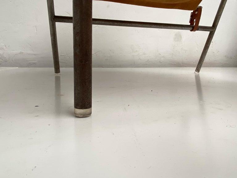 Rare Erik Ole Jørgensen Model BO 360 Suede Lounge Chair, Bovirke, Denmark For Sale 4