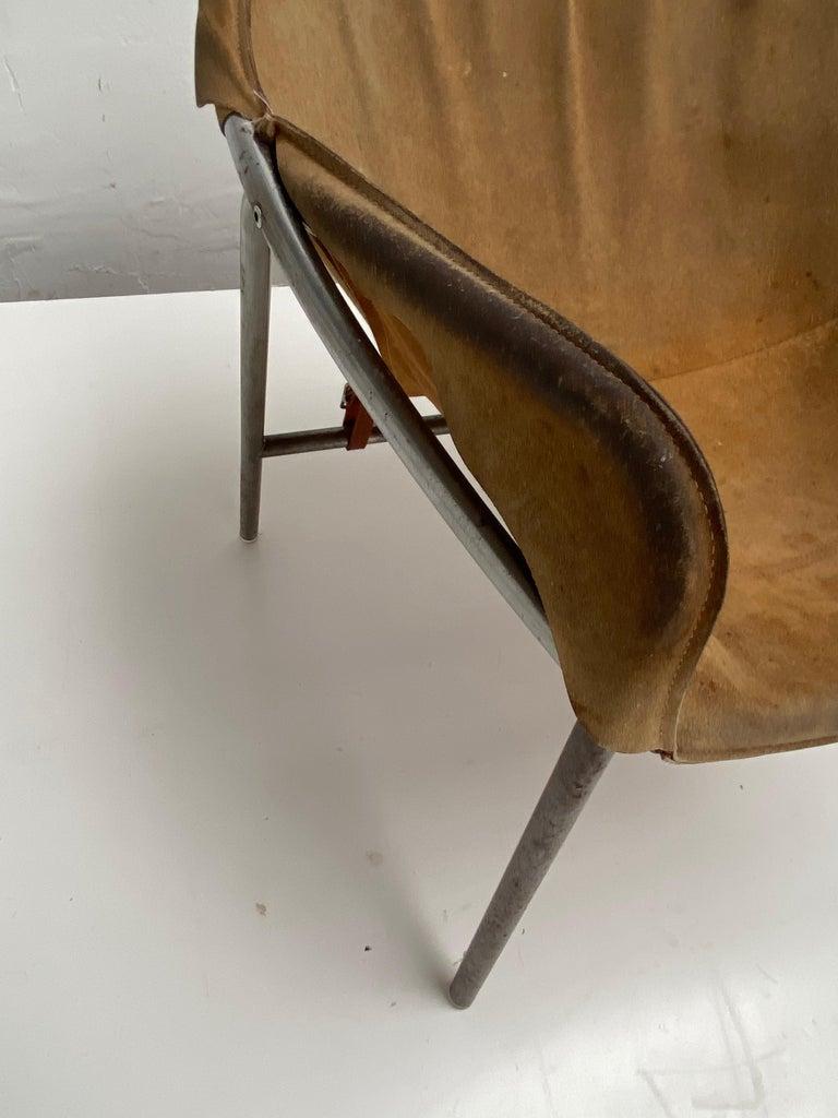 Danish Rare Erik Ole Jørgensen Model BO 360 Suede Lounge Chair, Bovirke, Denmark For Sale