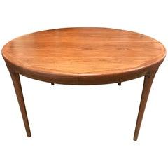 Rare Erik Worts - Danish Modern Table, 1960s