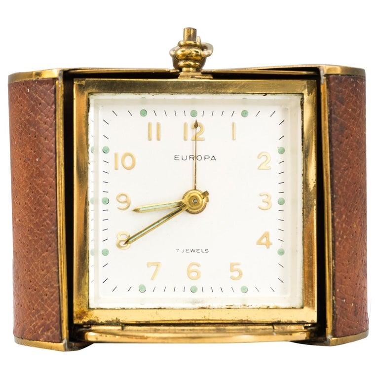 Rare Europa Travel Clock