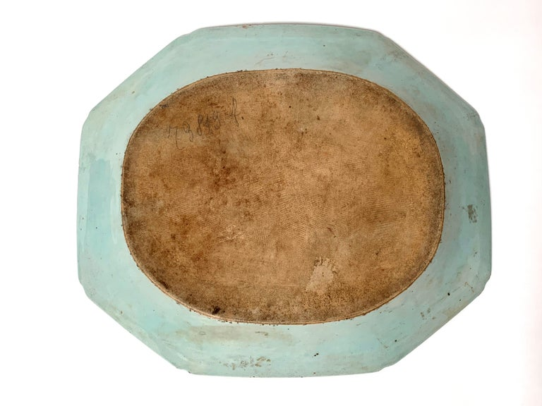Porcelain Rare Exceptional Large 18th Century Chinese Export Platter For Sale