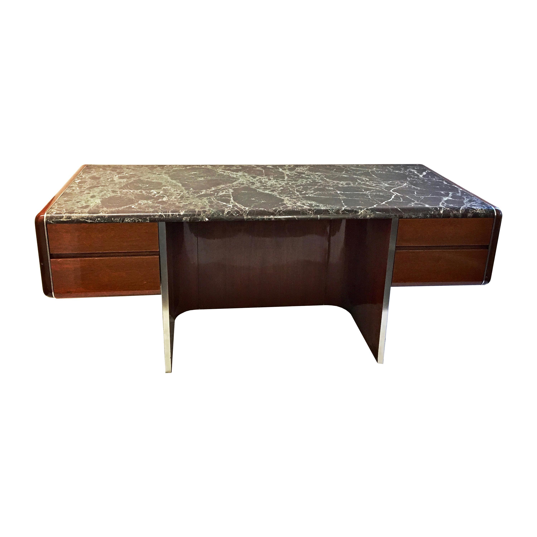 Rare Executive Desk by Vladimir Kagan, USA, 1970s