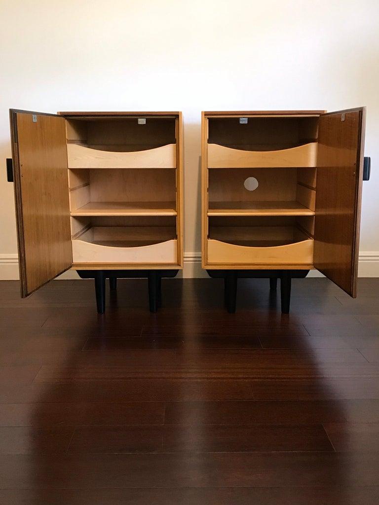 Mid-Century Modern Rare Finn Juhl for Baker Cabinets or Nightstands