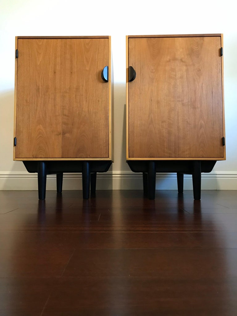 Mid-20th Century Rare Finn Juhl for Baker Cabinets or Nightstands